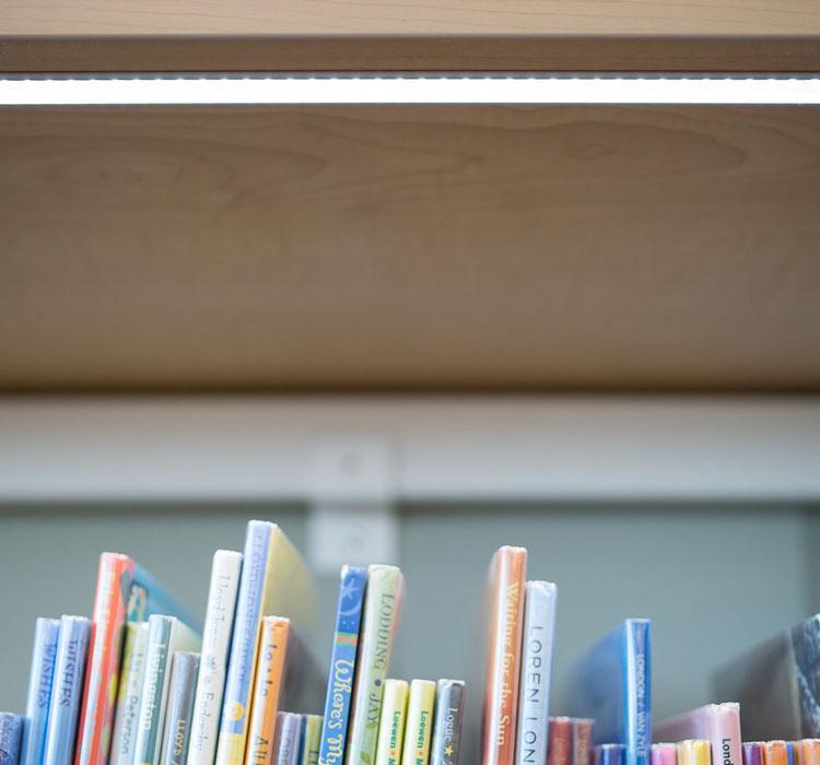 Book Shelving - LED Lights