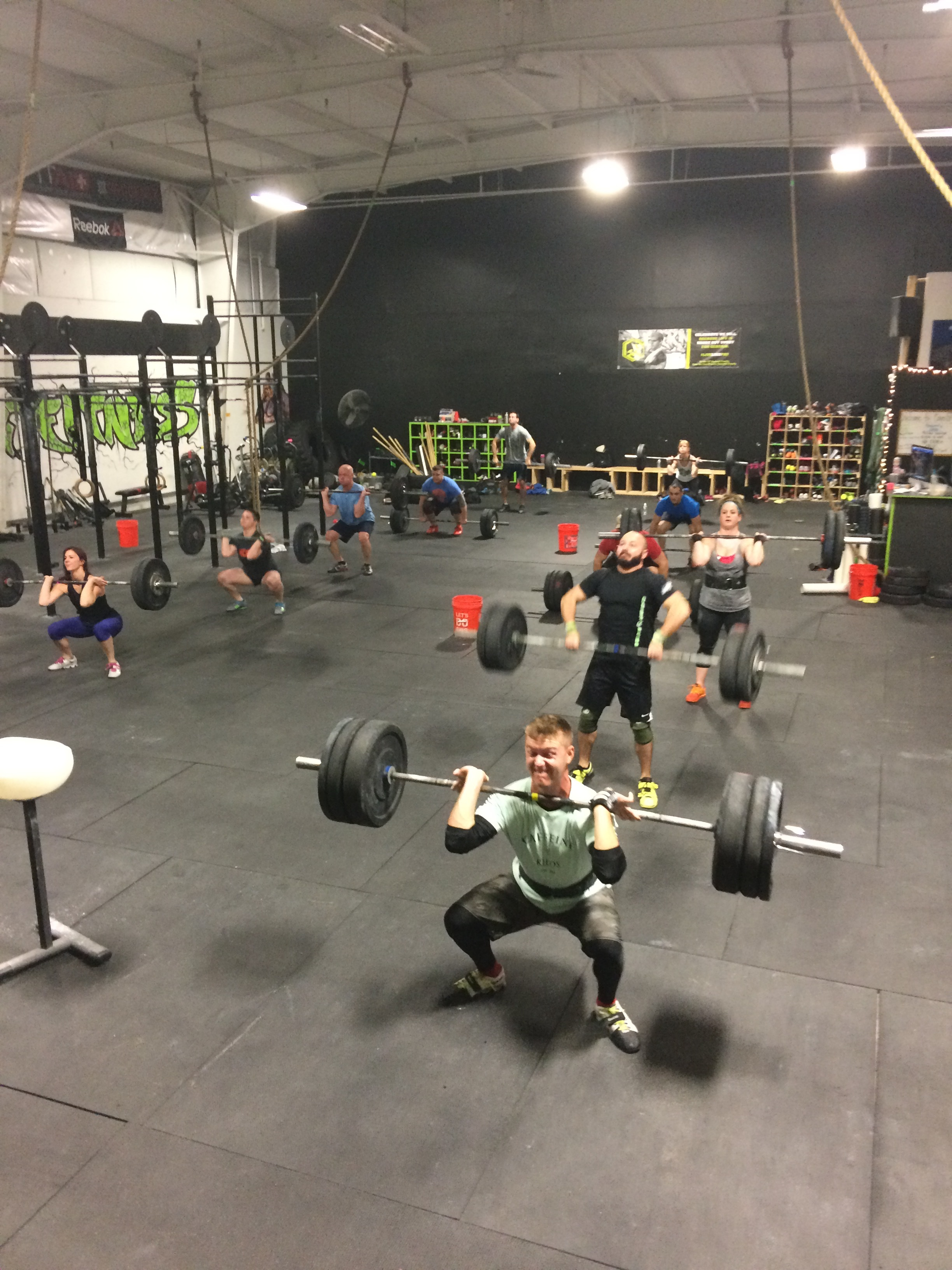 Showing Weightlifting Wednesday who's boss!