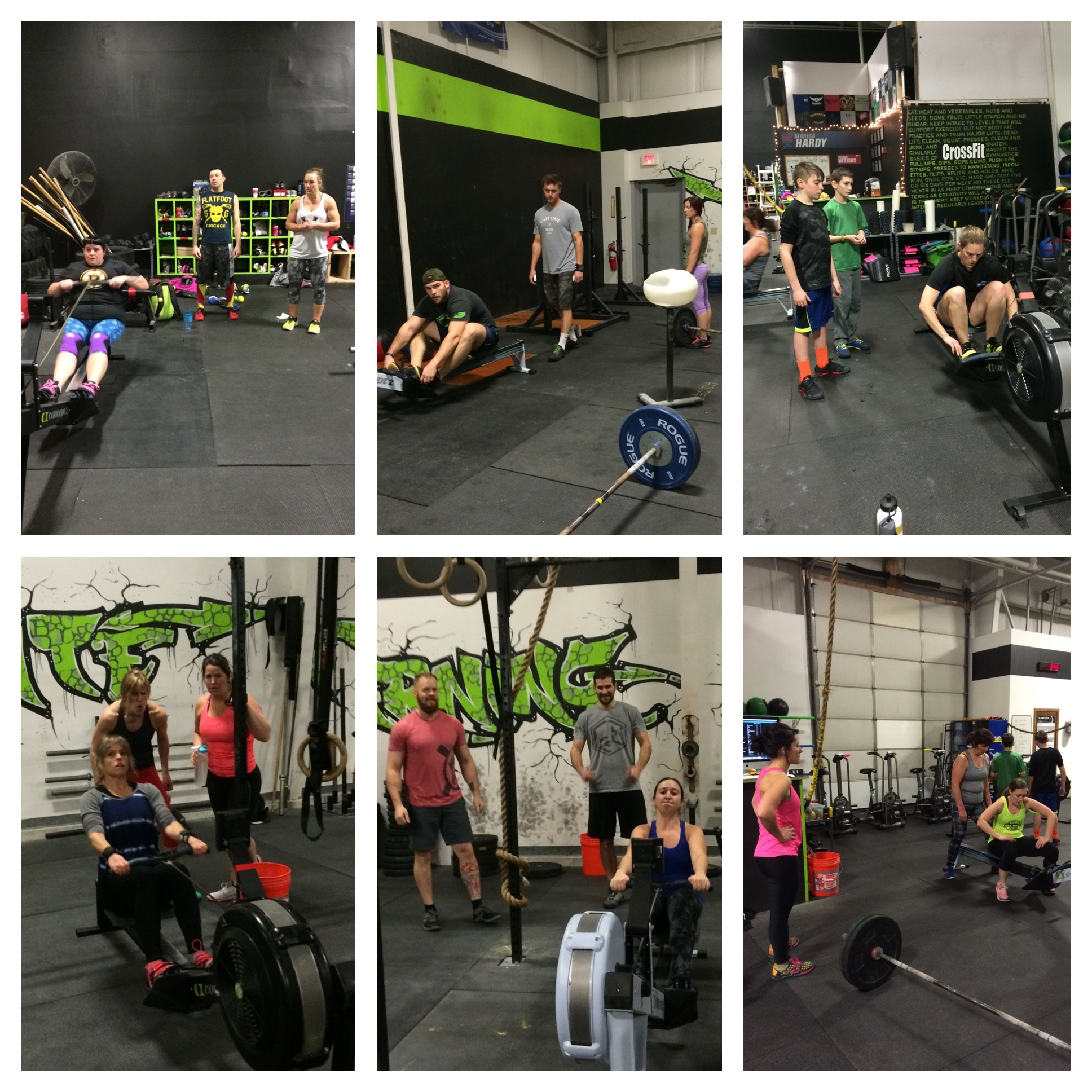 Last workout of 2015 and these teams rocked it!