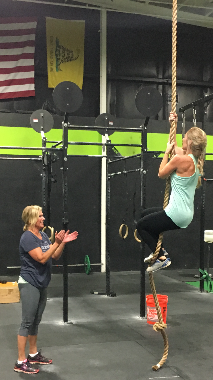 Mother/Daughter rope climbs are SO awesome!