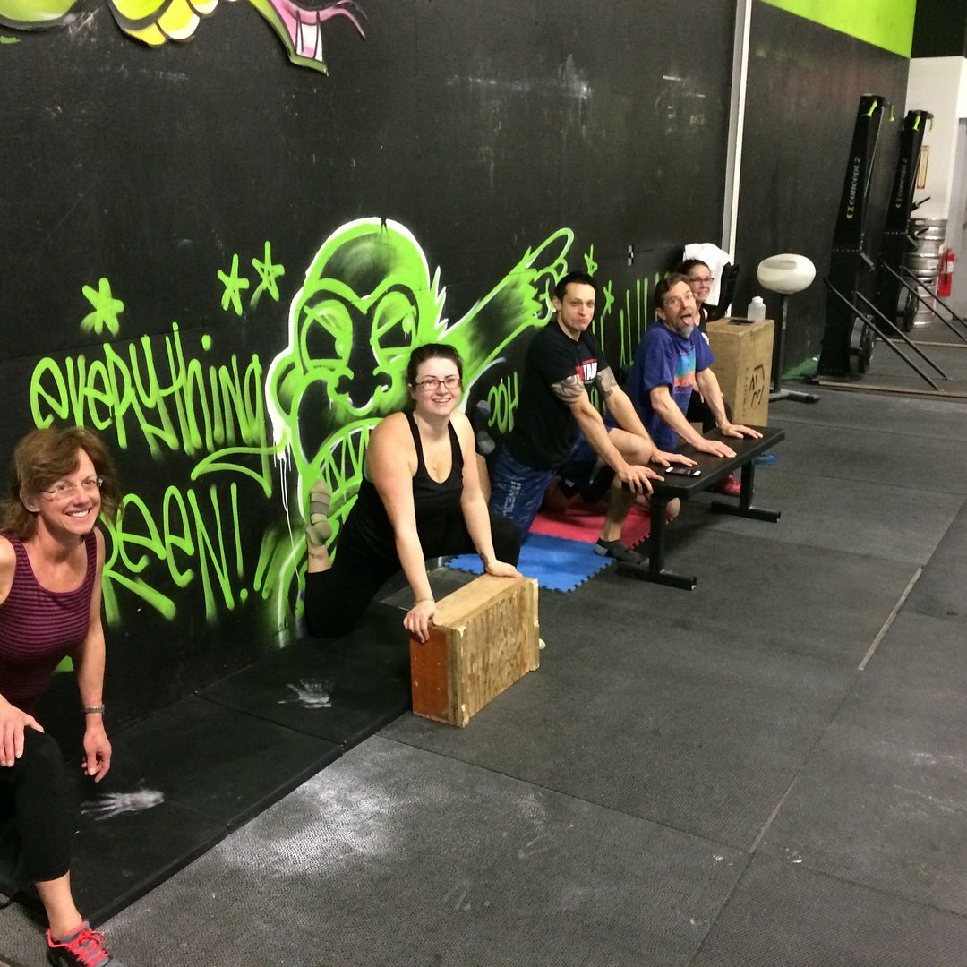 KB Class hitting the couch!