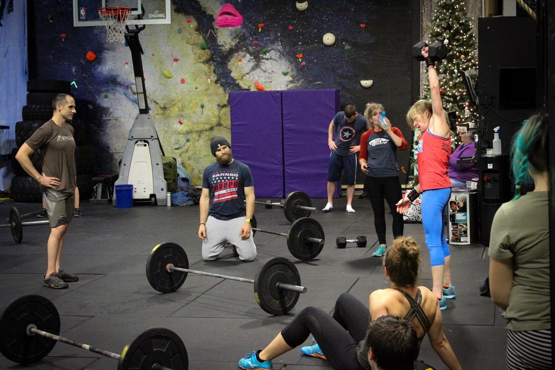 HUGE Congrats to Debbie Tully for qualifying for and completing the CrossFit Games Online Qualifier! The road to The Games gets tougher each year and she continues to take it in stride.