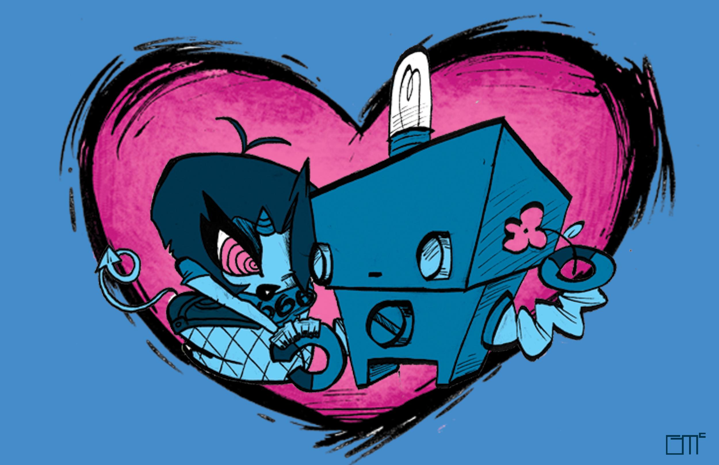 ROBO+ONI LOVE