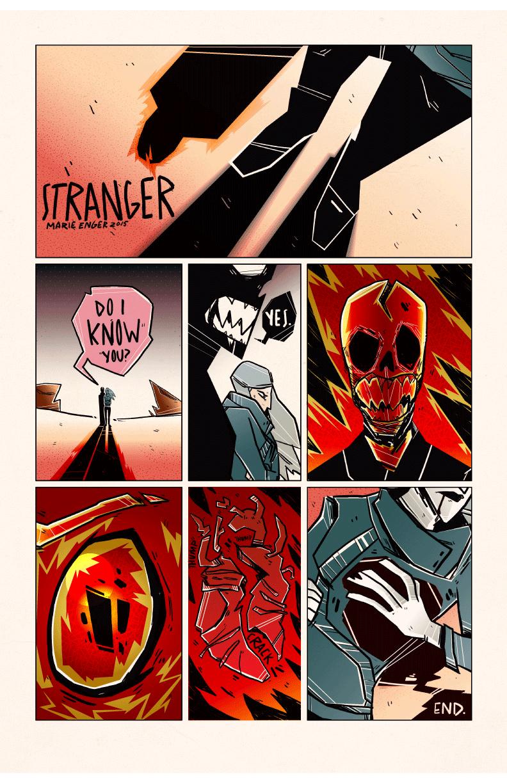 STRANGER ART WORK: MARIE ENGER