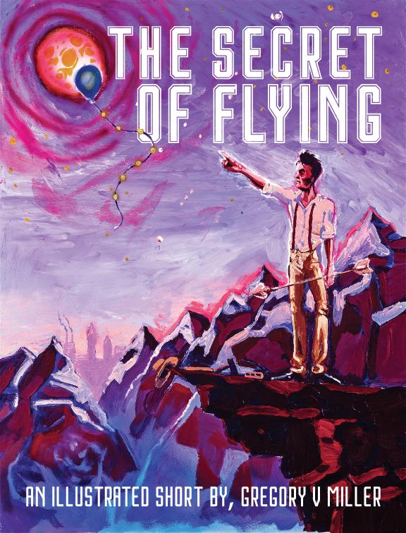 THE SECRET OF FLYING, COVER