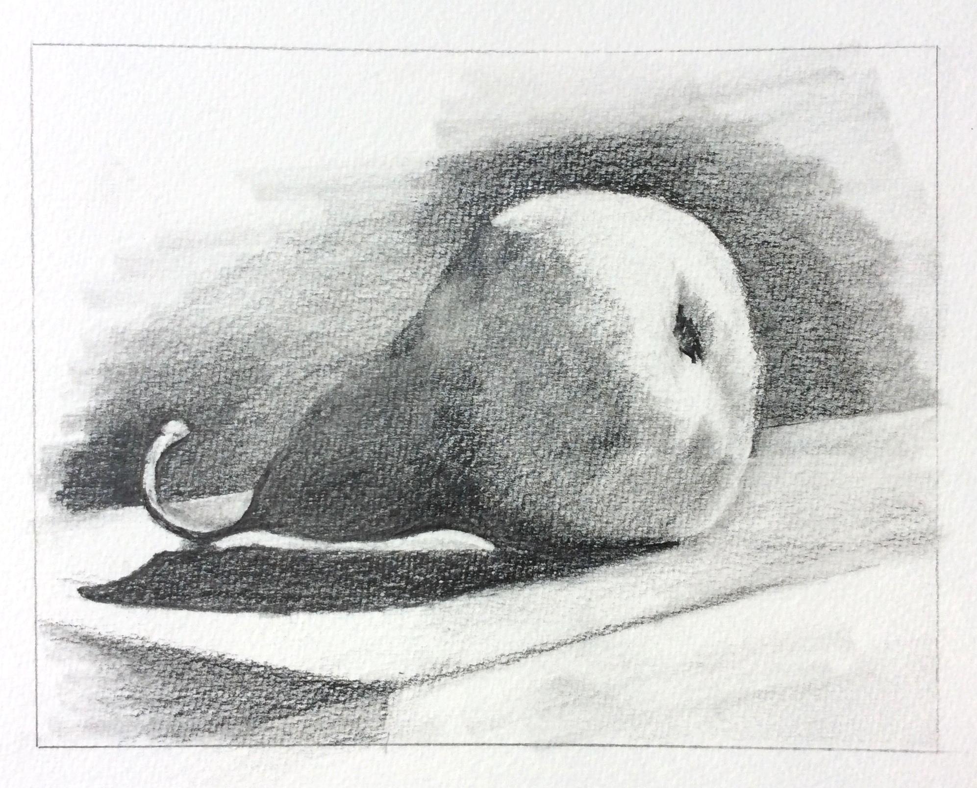 Art journal, pencil