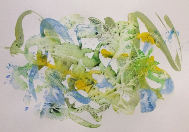 Untitled watercolour doodle, art journal