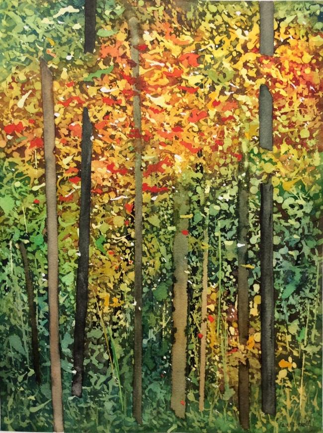 """Title TBD. Watercolour, 16 x 12"""""""