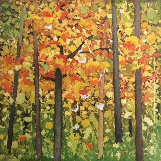 """Title TBD. Watercolour, 8 x 8"""""""