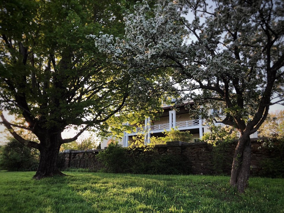 Aldworth manor peaking through trees.jpg