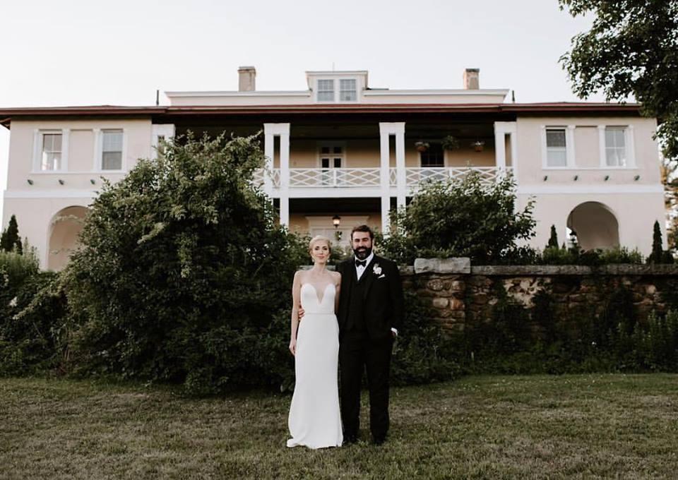 Beautiful wedding front shot of manor.jpg