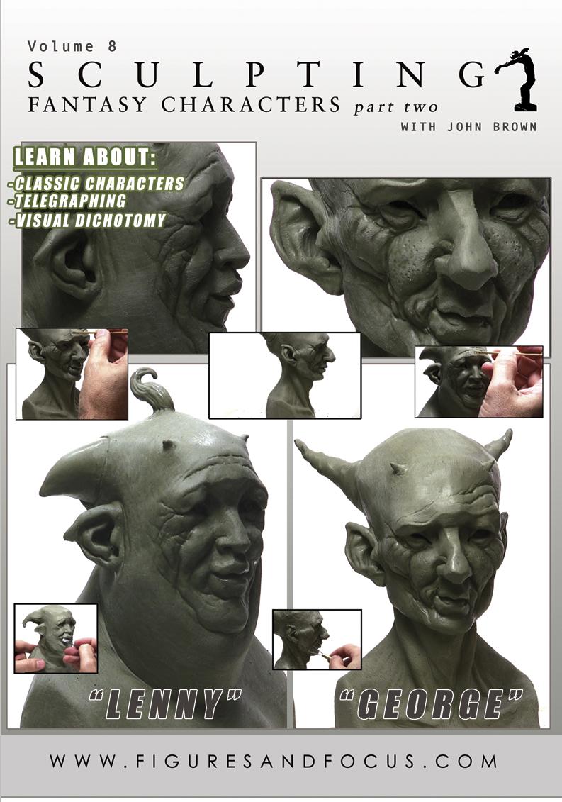 """""""Sculpting Fantasy Characters"""" (Digital Download)"""