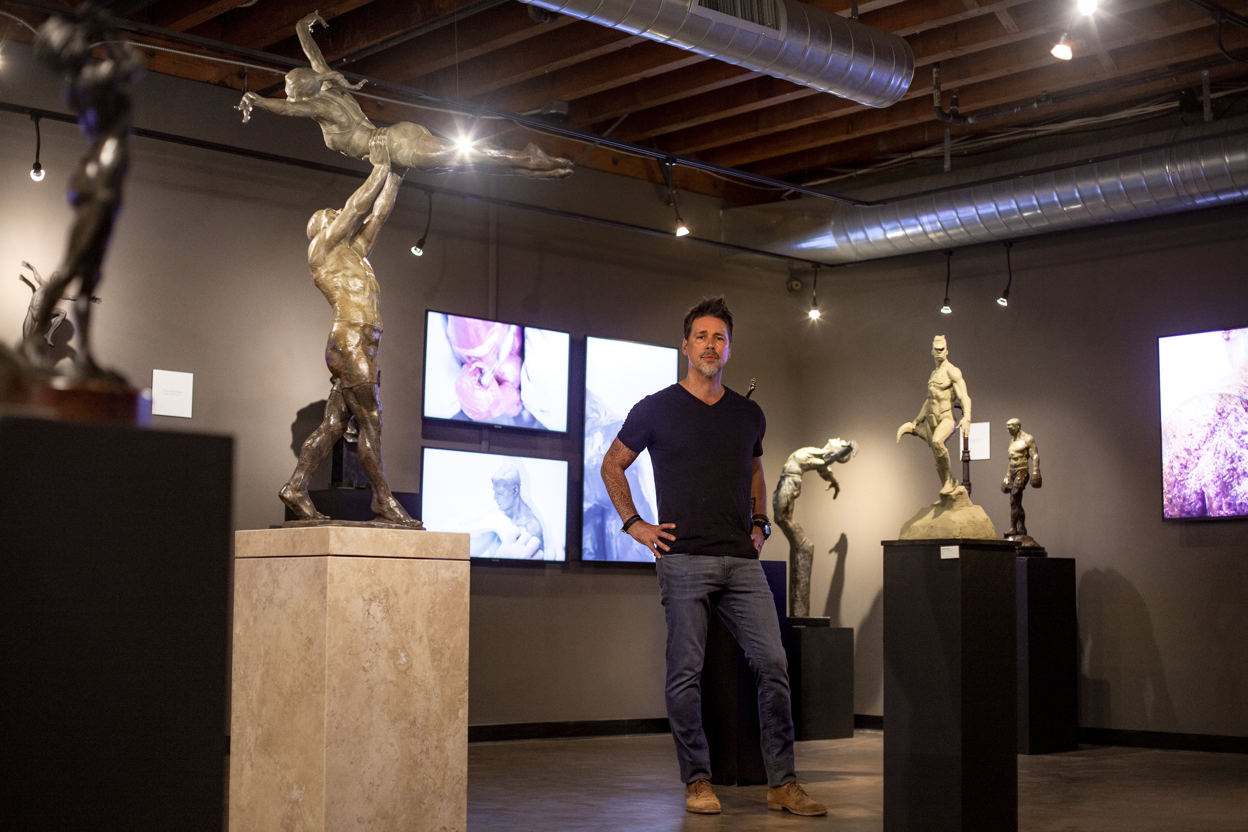Sculptures by John Brown at the Gnomon Gallery [Solo Show] July 6-30, 2019 1015 North Cahuenga Ave. Hollywood CA 90038