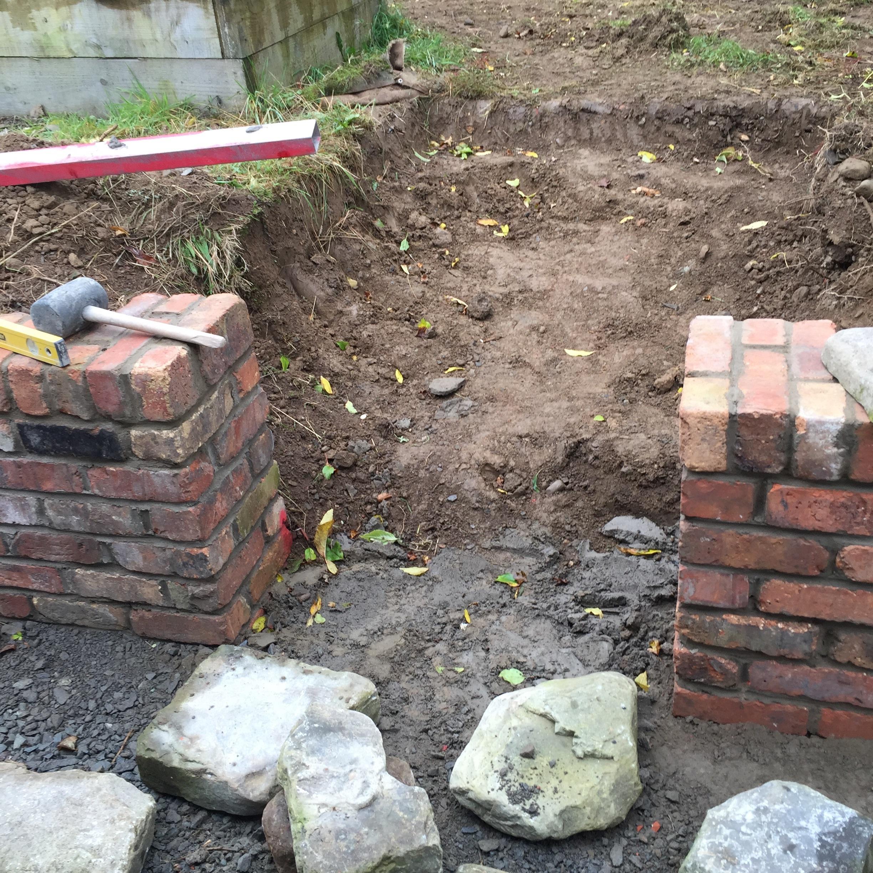 Stone Enterance into a Veg Garden