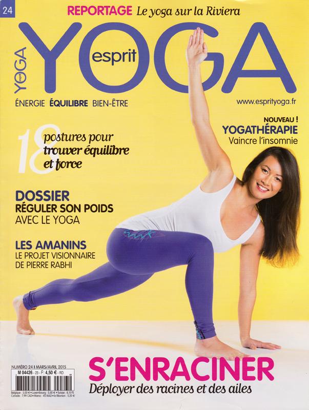Cover Esprit Yoga - 24