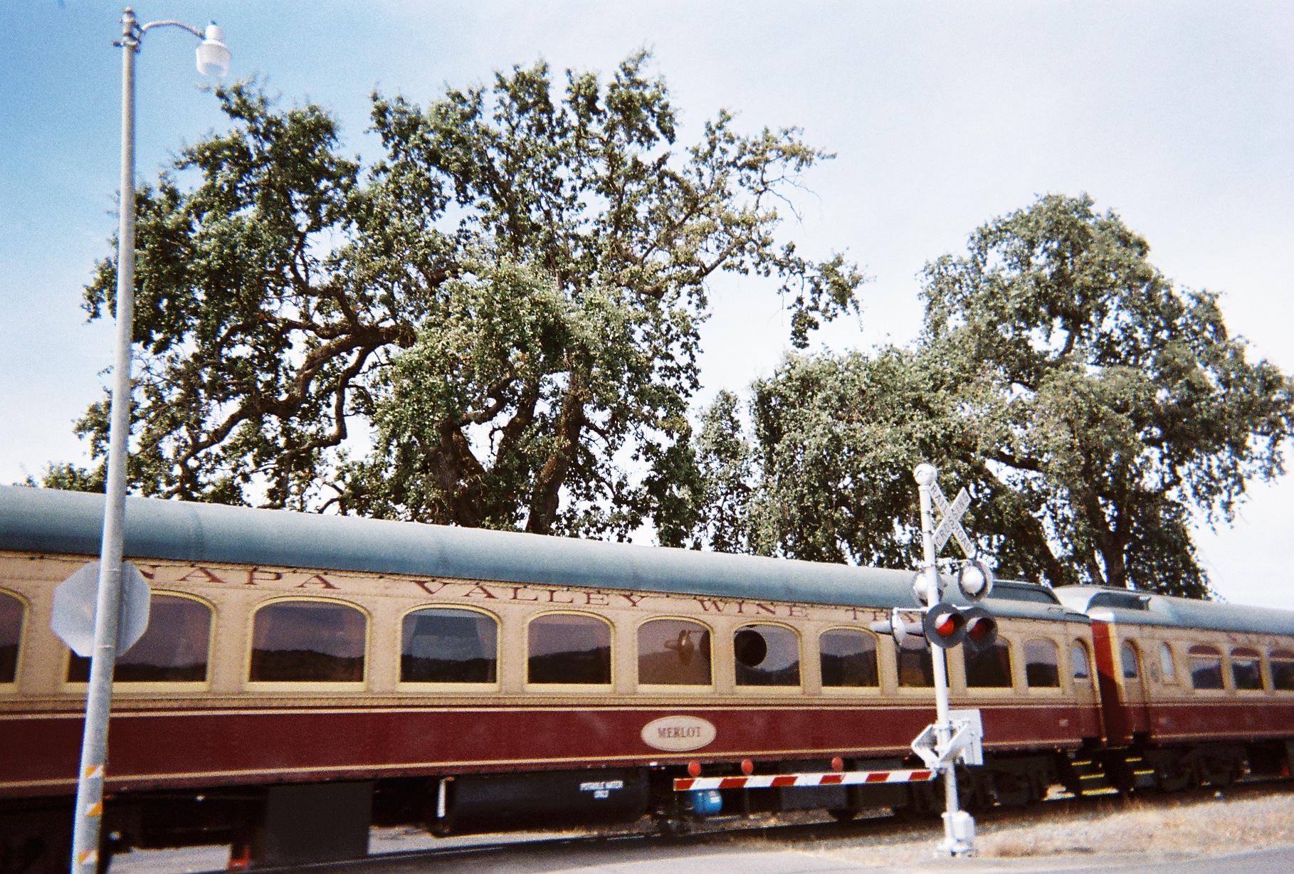 All aboard the vino train!