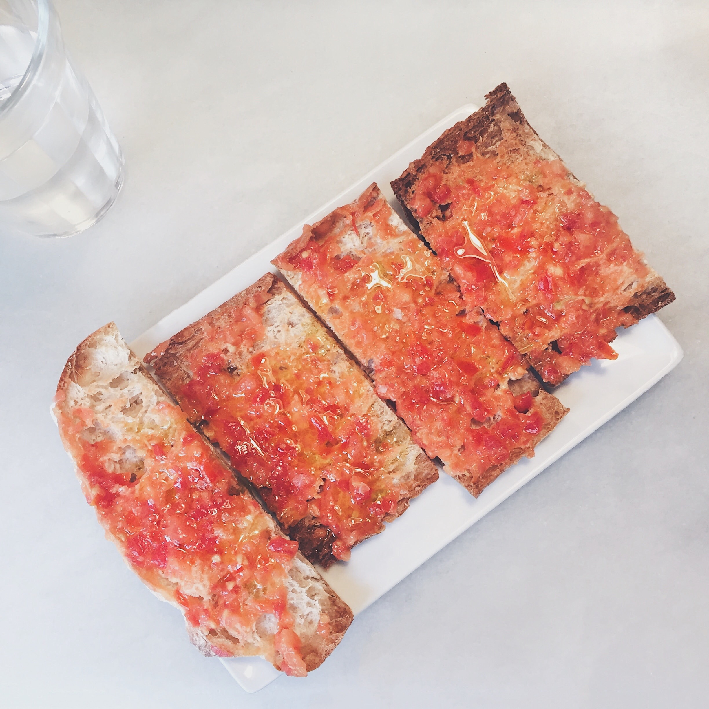 BarBut | Catalan crispy bread with tomato.
