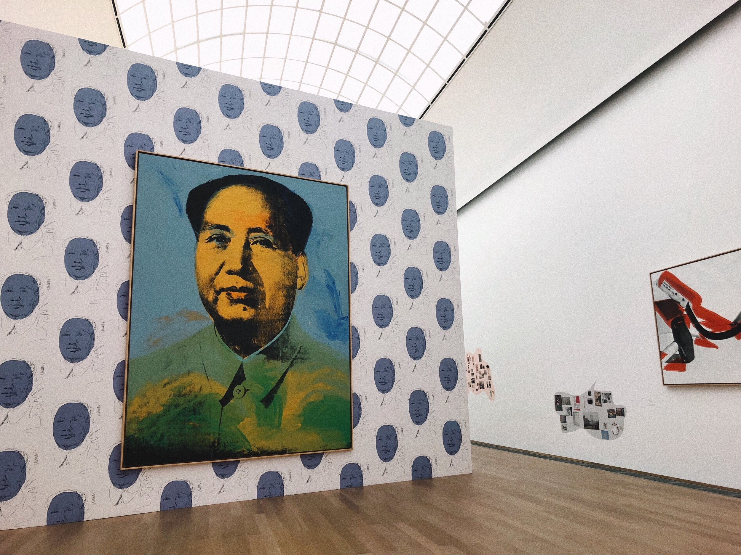 Hamburger Bahnhof | Portrait of Mao by Andy Warhol.