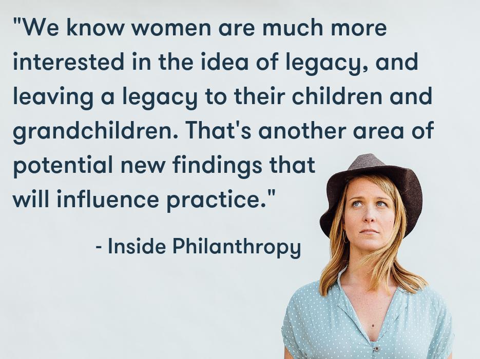 Source:  Inside Philanthropy: Empowered Women Changing Philanthropy