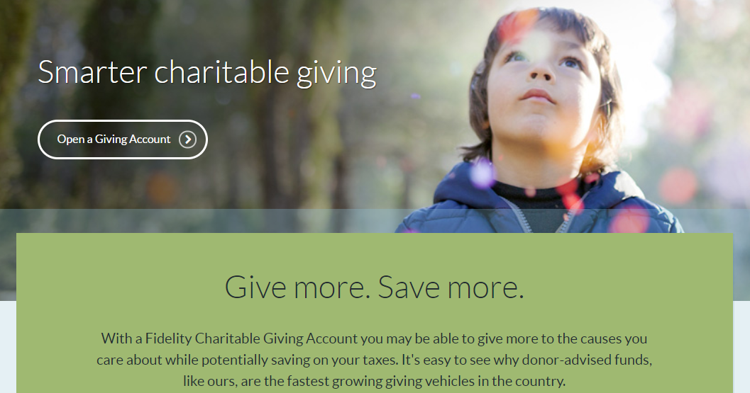 (Source:  Fidelity Charitable )