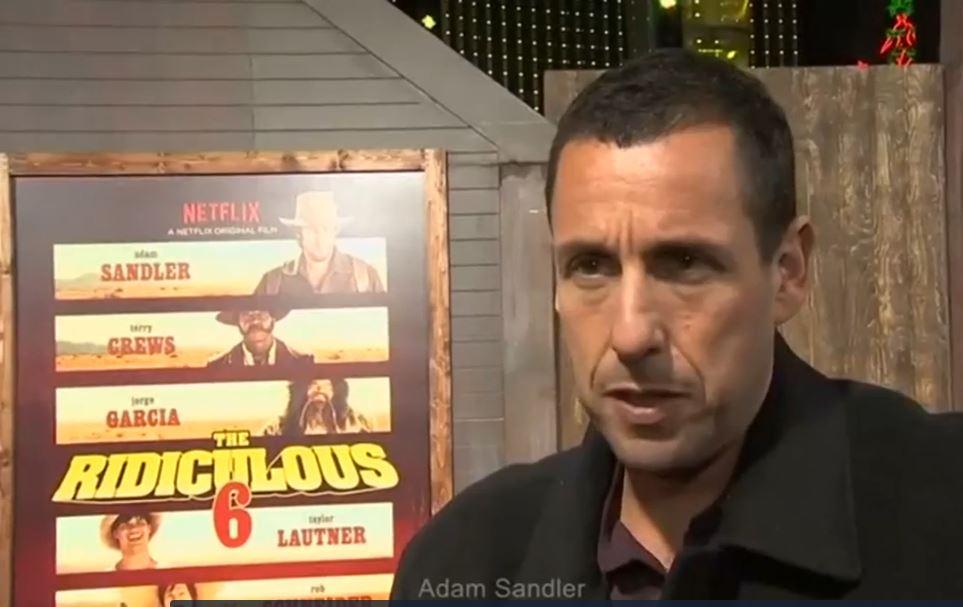 Filmaker Adam Sandler
