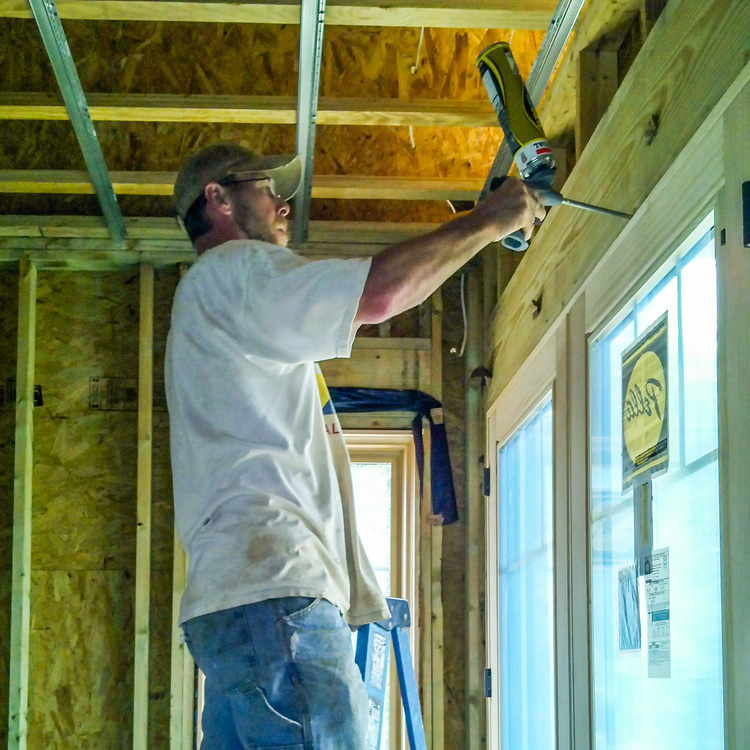 AIRTIGHT HOUSING - This technique includes sealing all penetrations of windows and doors using foams and caulking materials. This prevents infiltration of moisture vapor to protect the exterior wall system from mold and rot. Additionally, airtight housing reduces heating/cooling loss for efficient energy use.