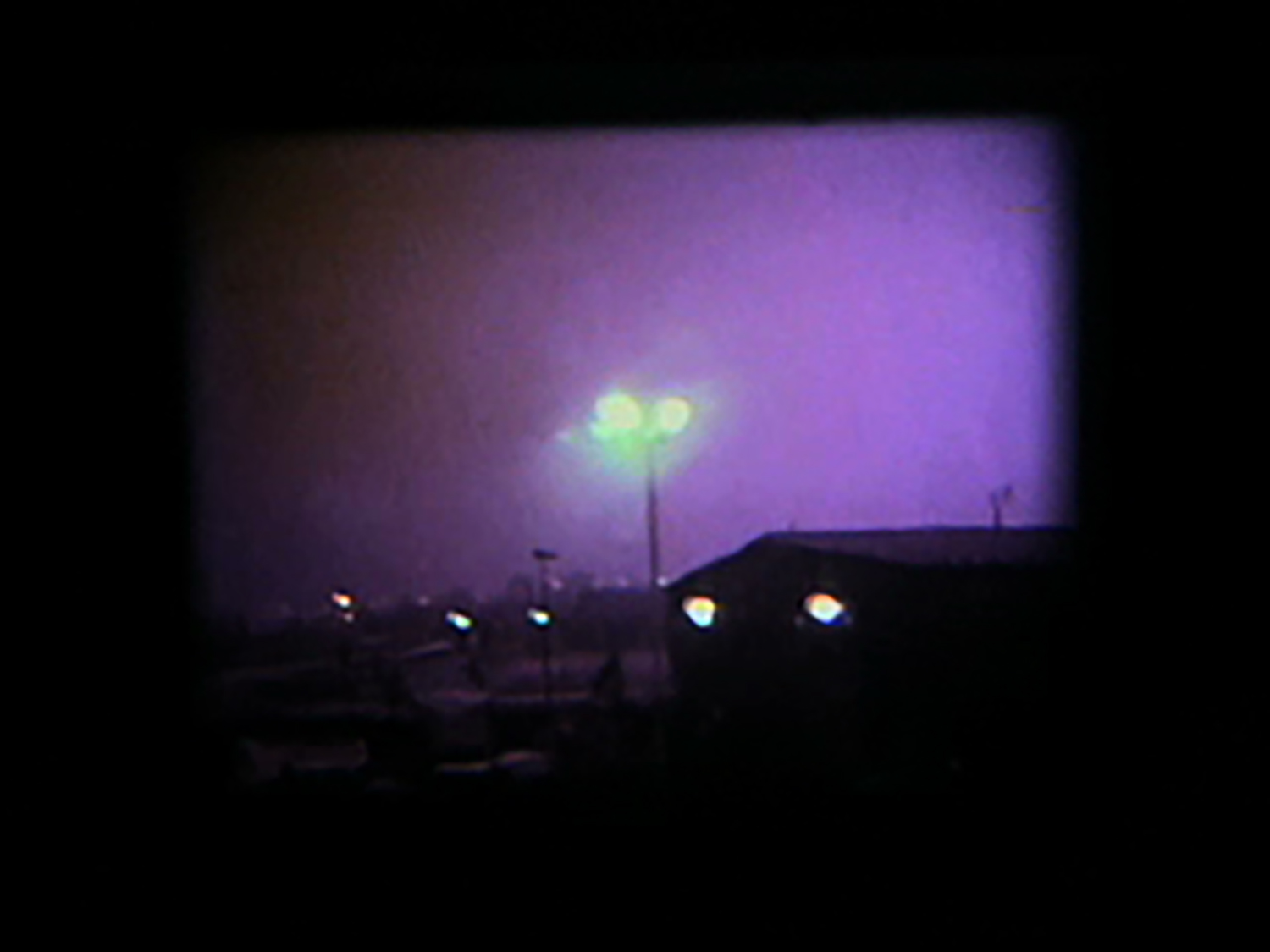 Peoria Gist [2009] super 8, 1:00 - Part of the New Media New Music New England 60 x 60 project, the film documents a layover in an average American city and is an exercise in random construction.