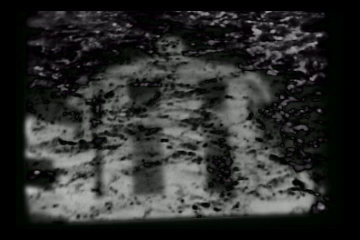 travelogue #6 [2004] super 8, 2:00 - The first in a series of personal travelogues, shot on super 8 and manipulated digitally, the film is a visual memoir of an exotic space. Stripped of its color components, the film is a frame intensive investigation of a typically vivid environment.