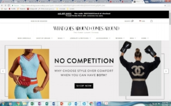 Chanel is contesting. Image credit: What Goes Around Comes Around