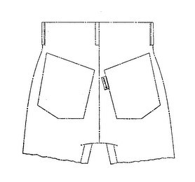 Levi Strauss drawing from trademark registration. Image credit: Levi Strauss