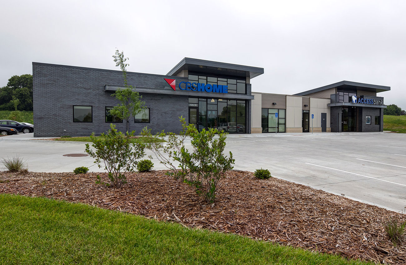 Access Bank and CBS Office at Shadowlake Development |  Omaha, NE   View Gallery »