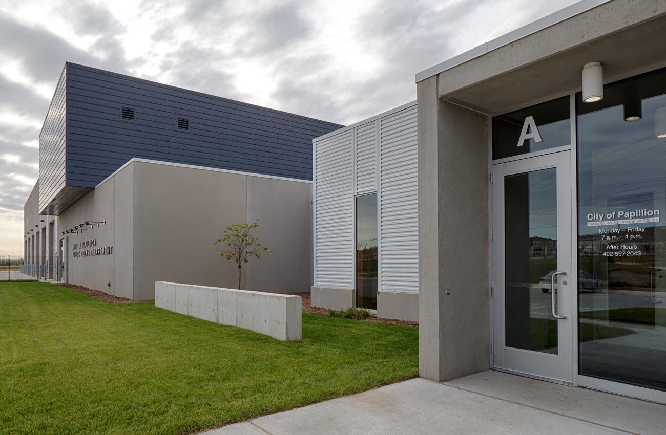 Papillion Public Works Facility  Papillion, NE   View Gallery »
