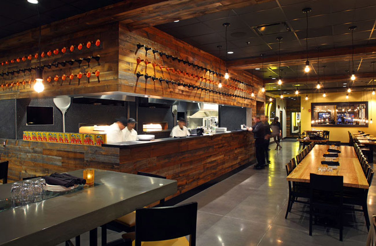 Pitch Coal-Fire Pizzeria |  Omaha, NE   View Gallery »