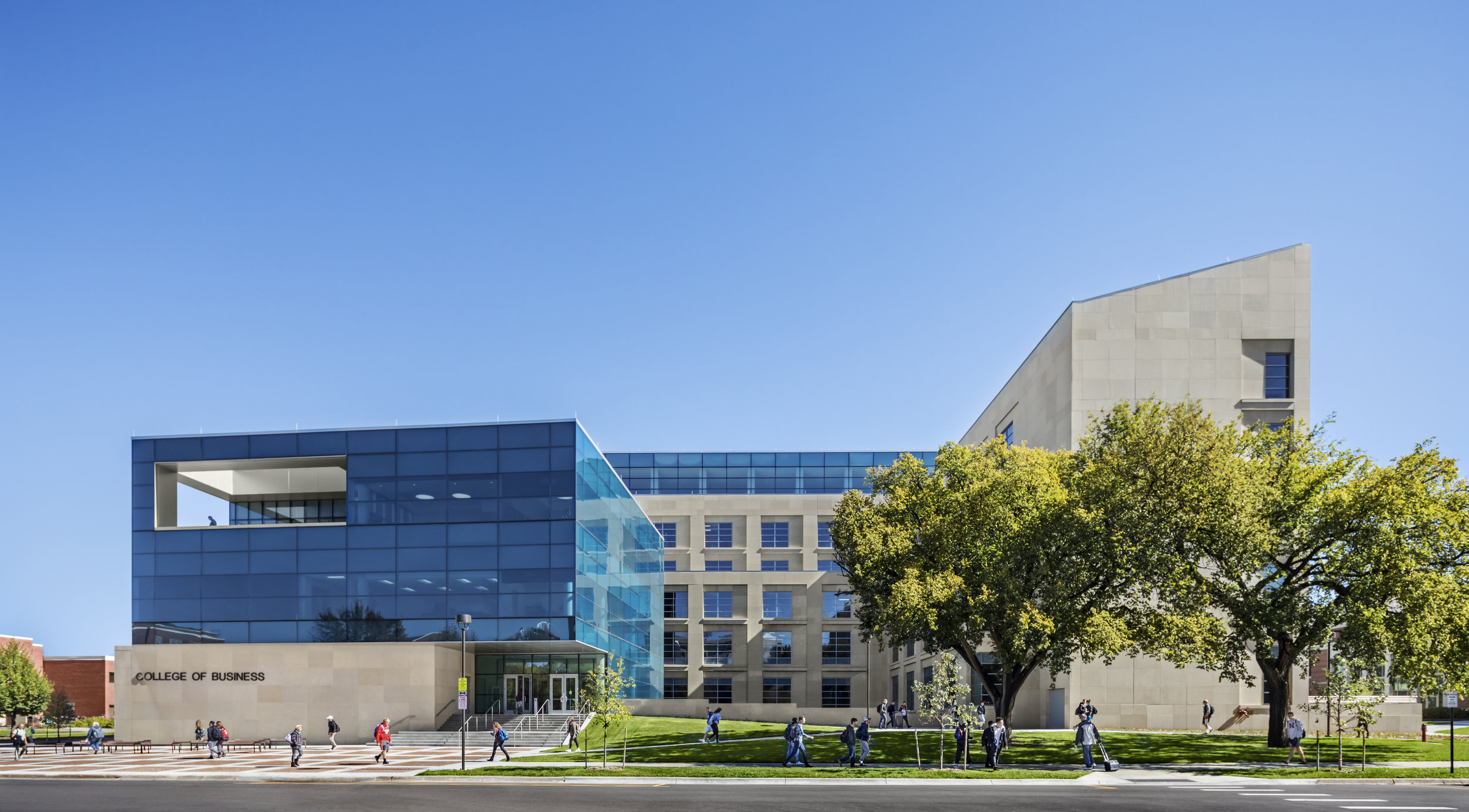 University of Nebraska at Lincoln, College of Business    Lincoln, NE           View Gallery »