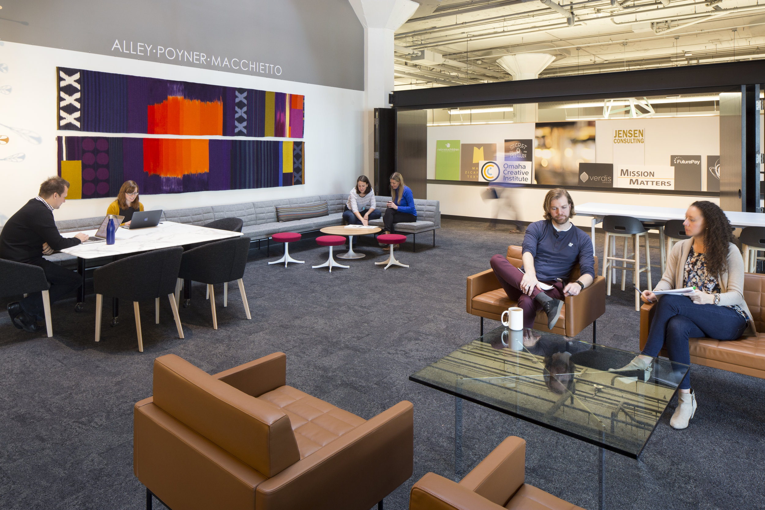 Alley Poyner Macchietto Architecture Studio + CO LAB |  Omaha, NE   View Gallery »