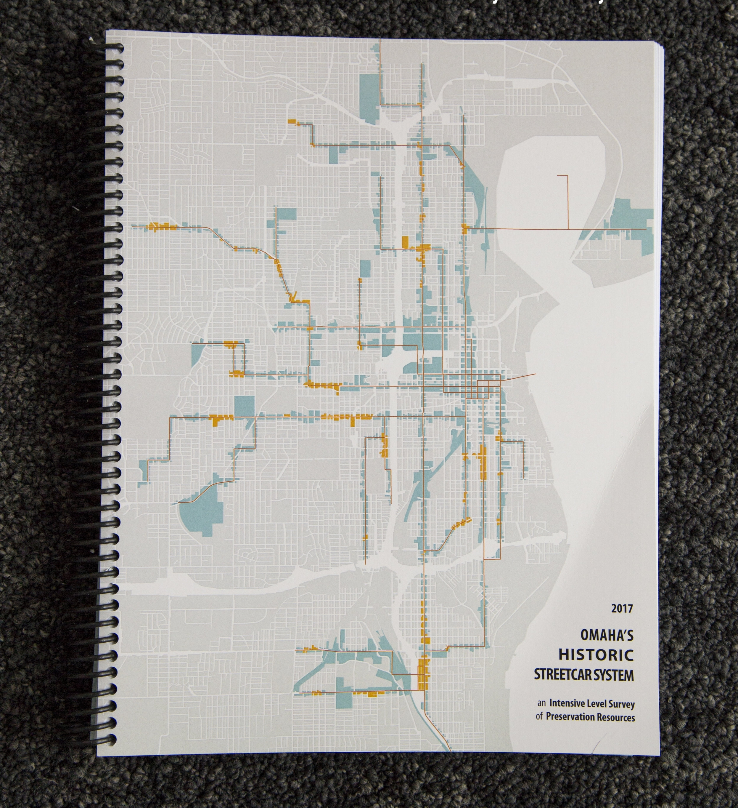 2017 Omaha's Historic Streetcar System Intensive Level Survey book