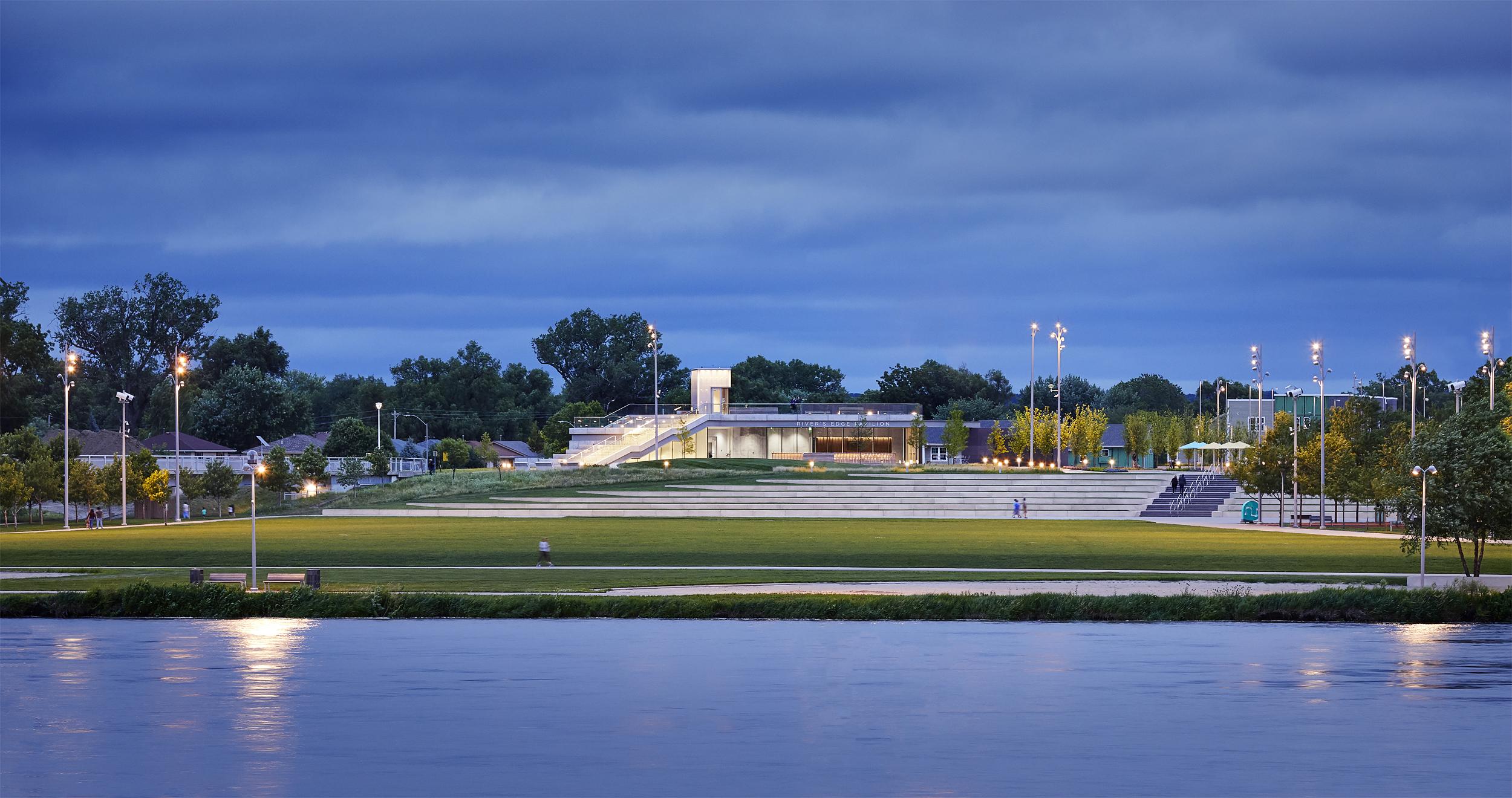 River's Edge Pavilion | Council Bluffs , IA   View Gallery »