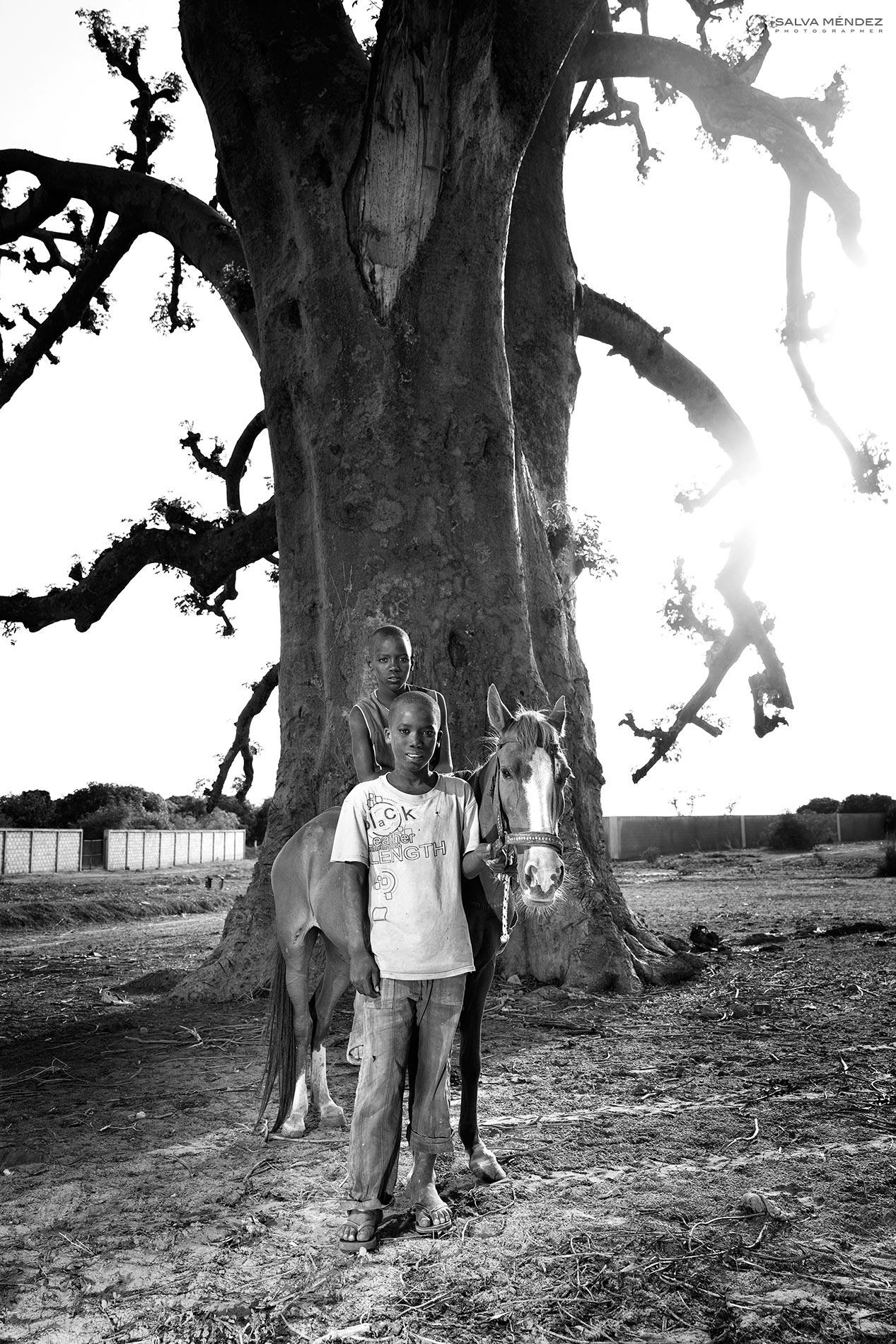 Kids from Senegal