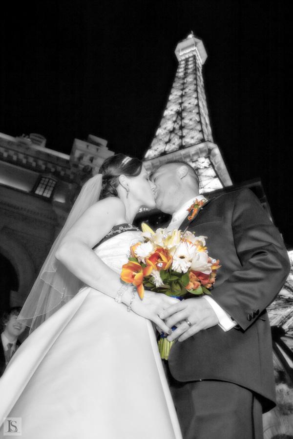 wedding on Las Vegas strip