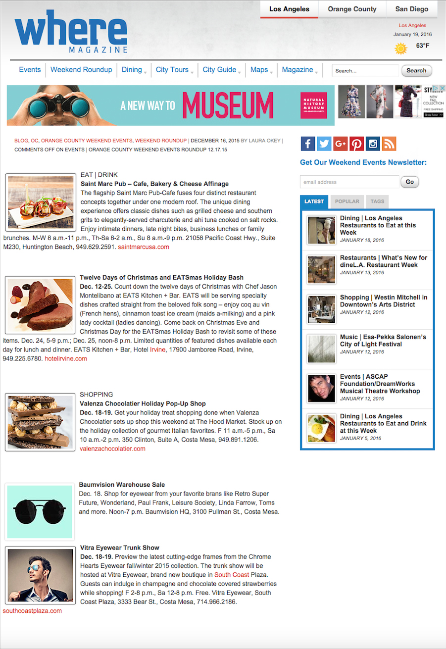 http://www.wherela.com/blog/2015/12/16/events-orange-county-weekend-events-roundup-12-17-15/
