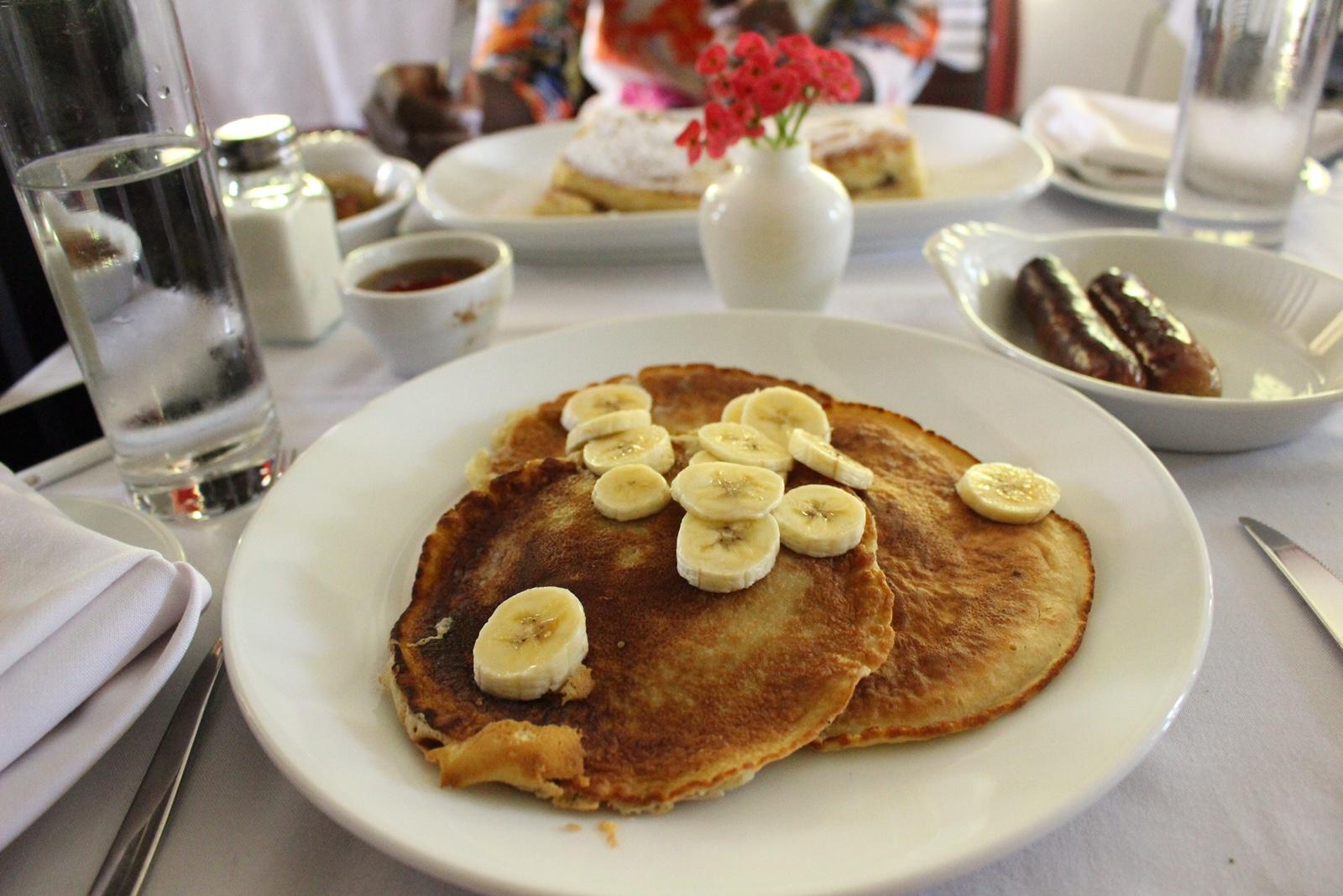 Banana Pancakes, Bread & Wine