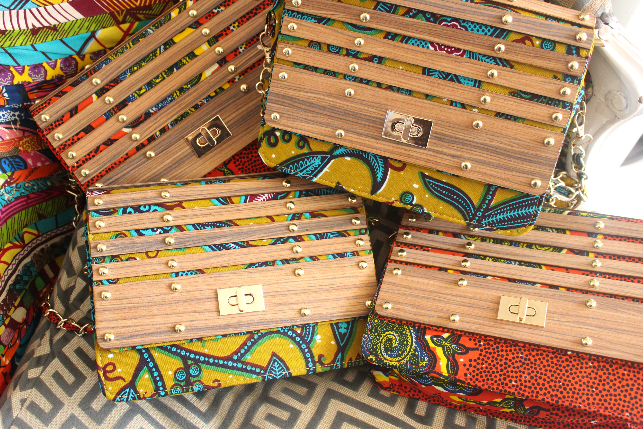Wooden Bag - Ghs 180