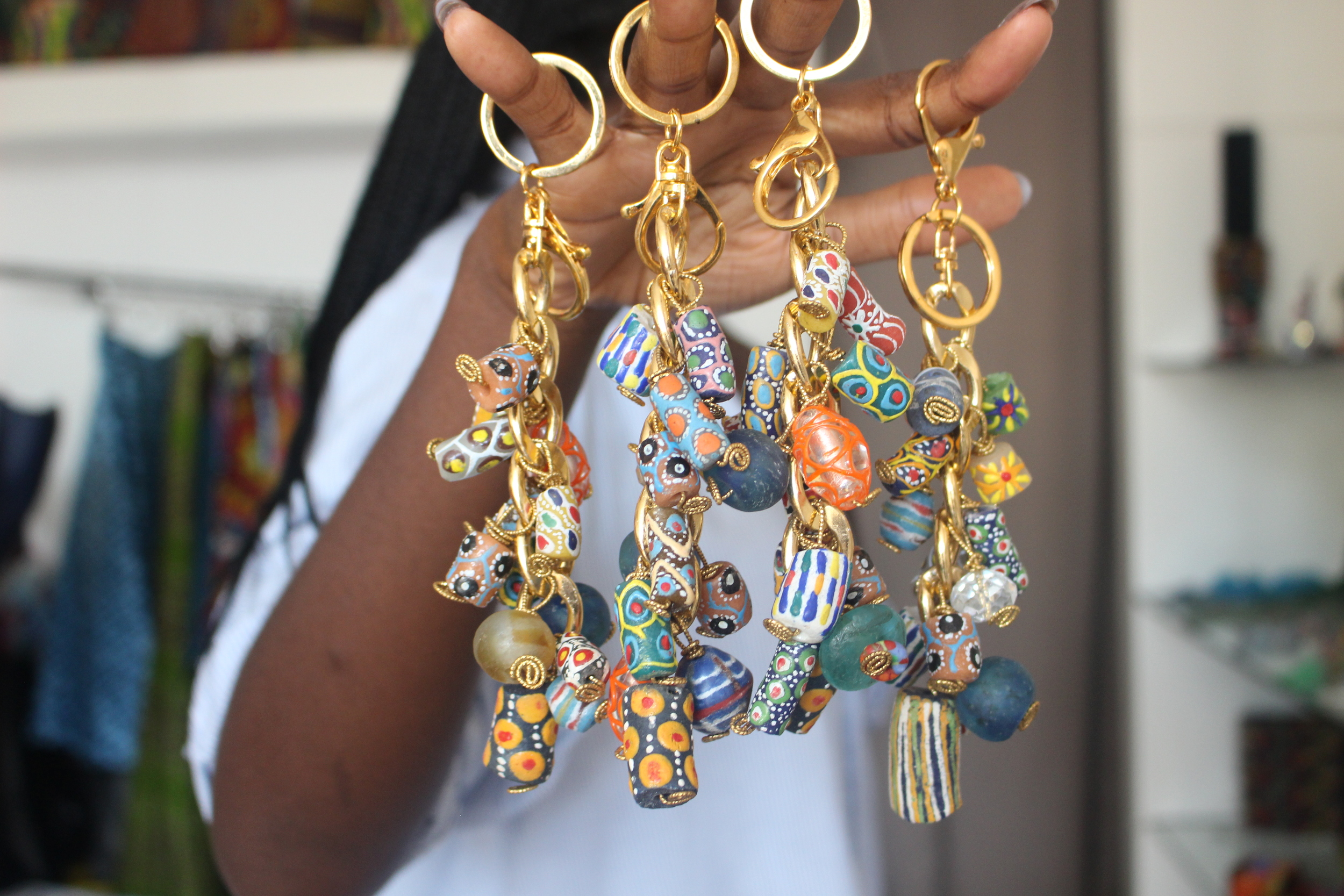 Chic By Siba Key Chain