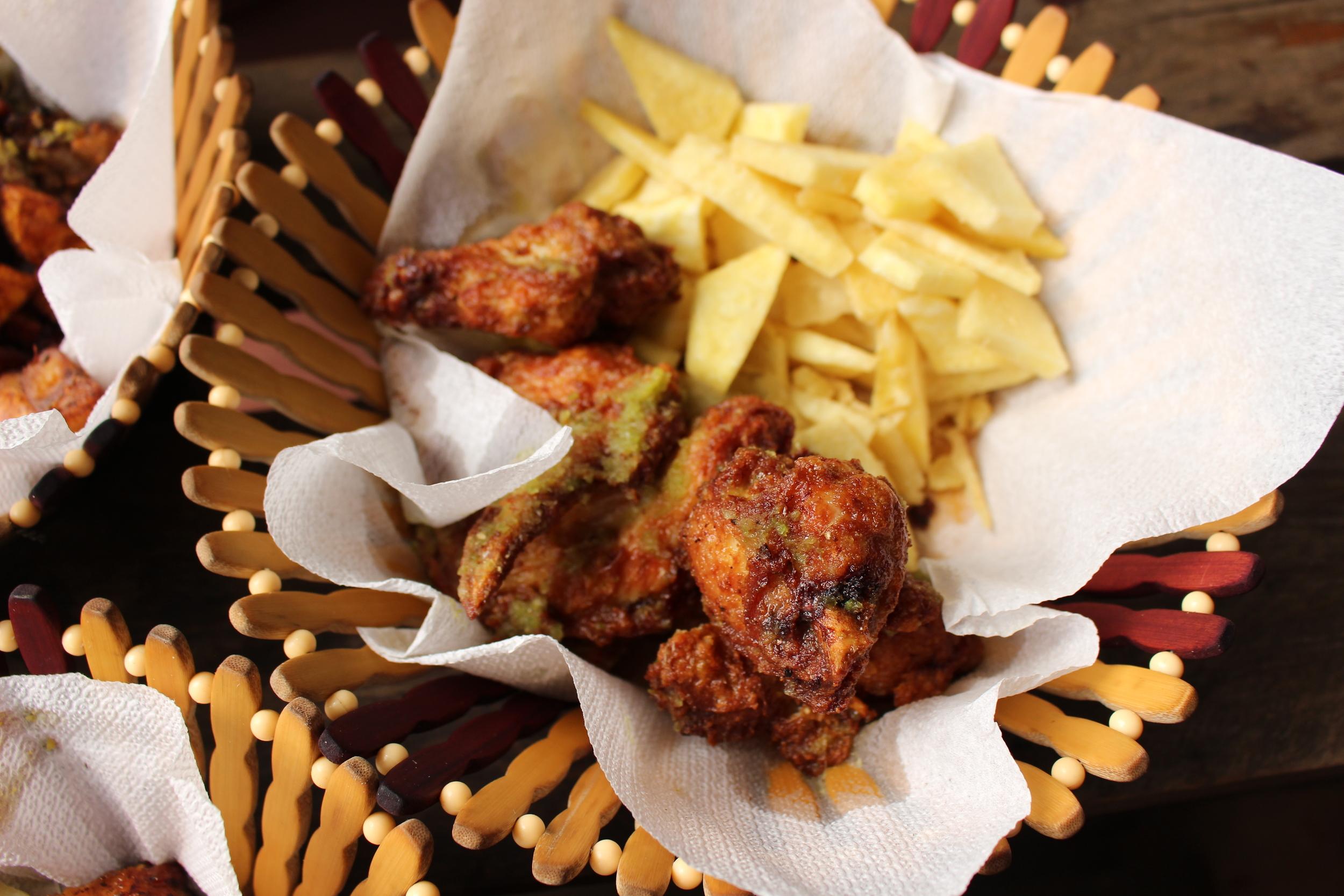 Sweet Fried Chicken Wings