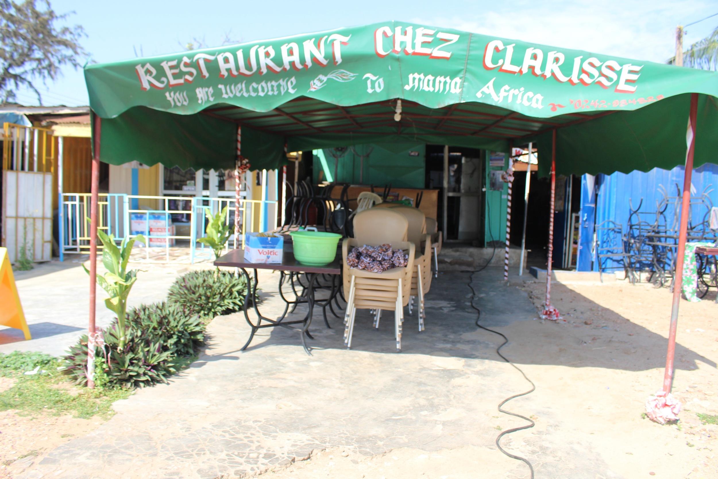 Chez Clarisse, Osu