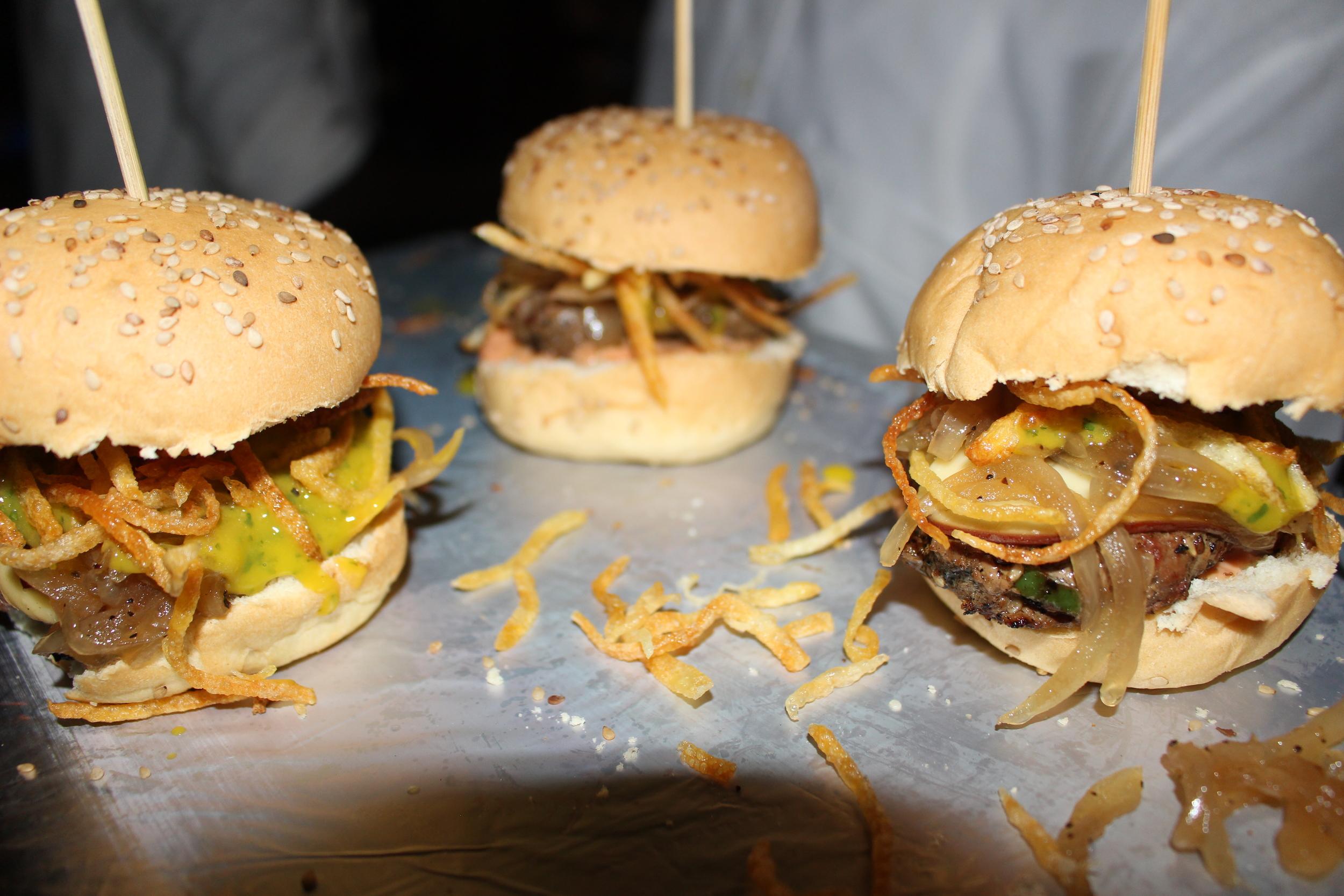 Mango Chutney Burger Brother Company Accra