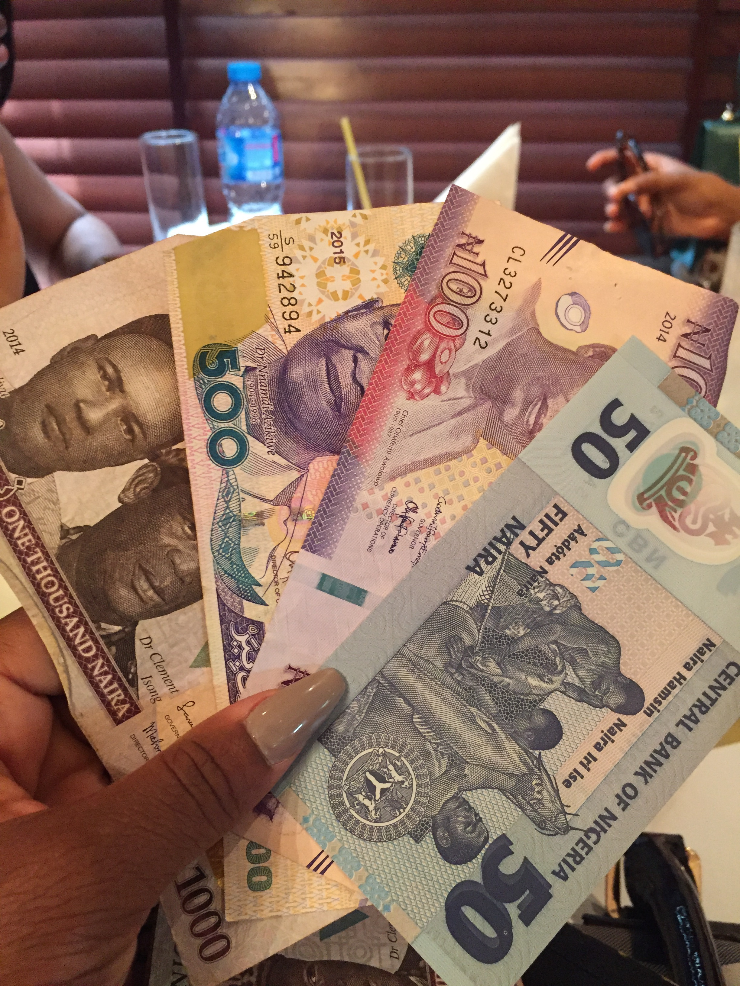Naira for the jamment