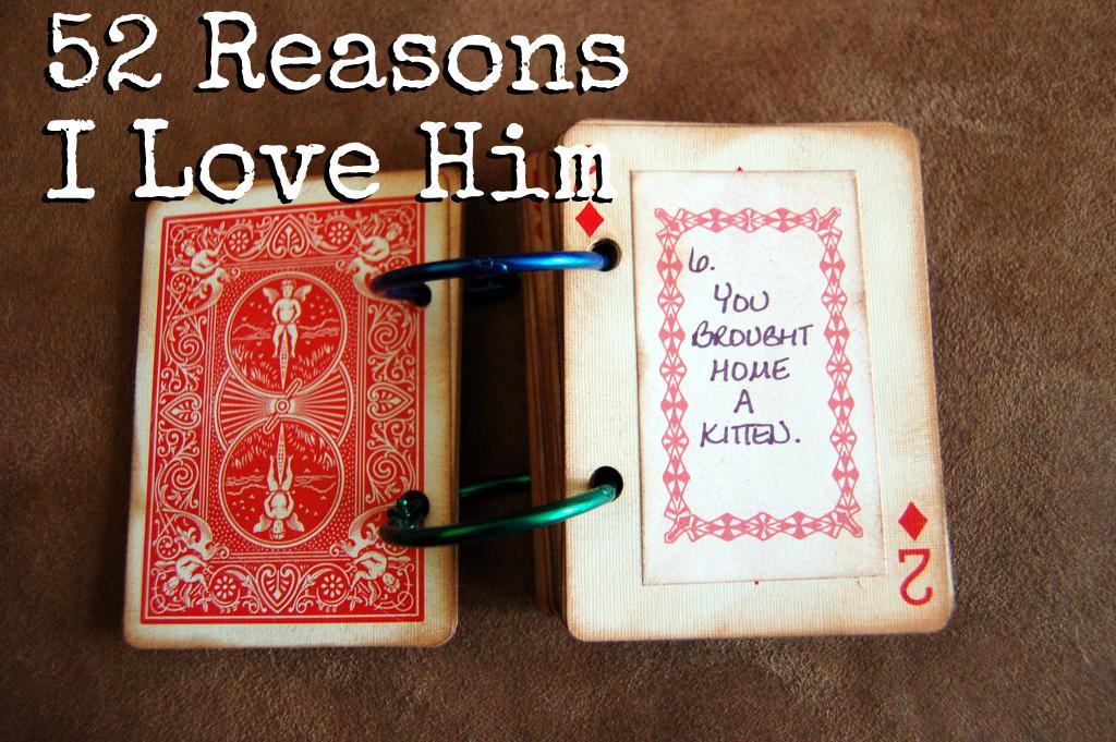 52 reasons i love him