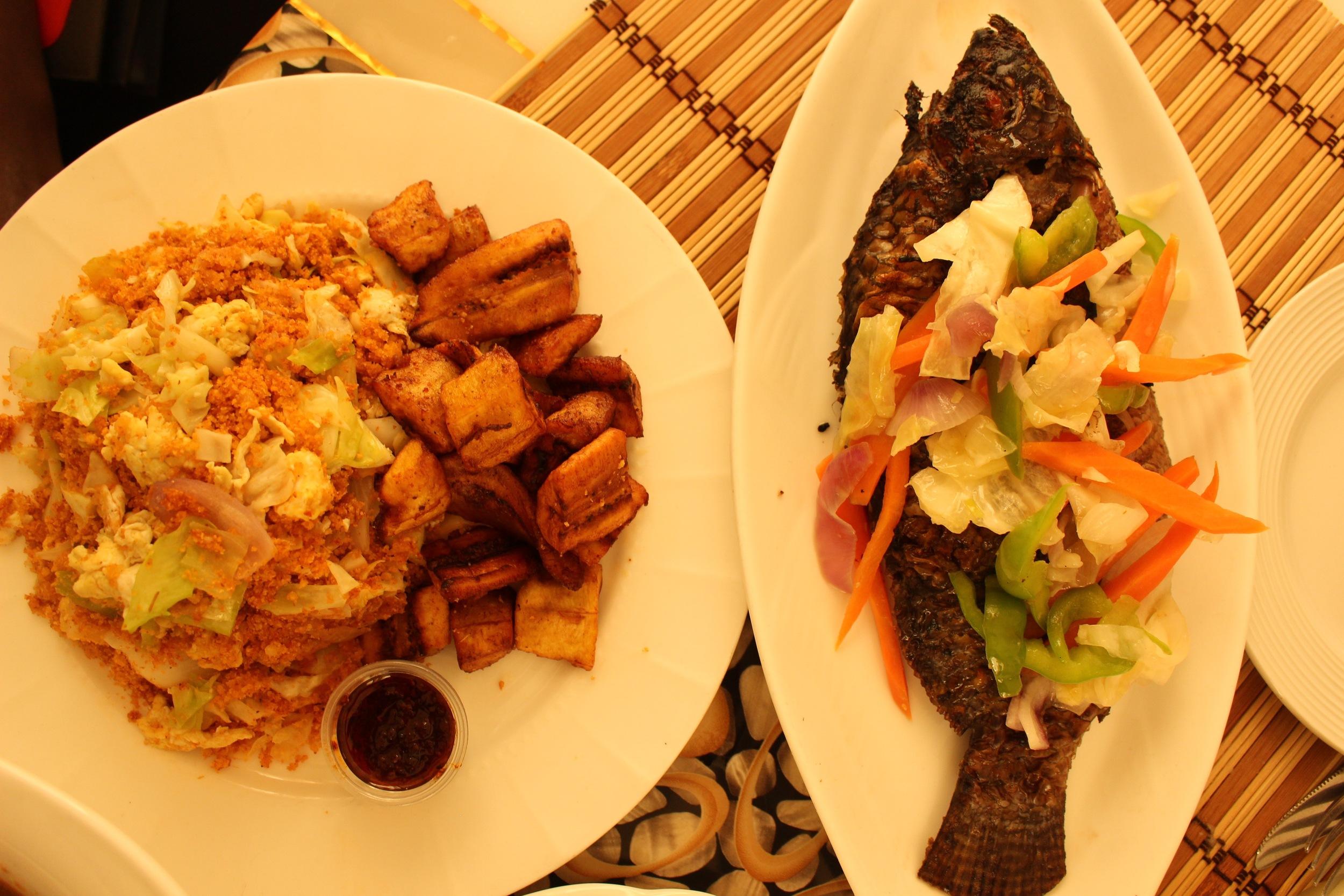 Gari Foto and Grilled Tilapia, Mazera