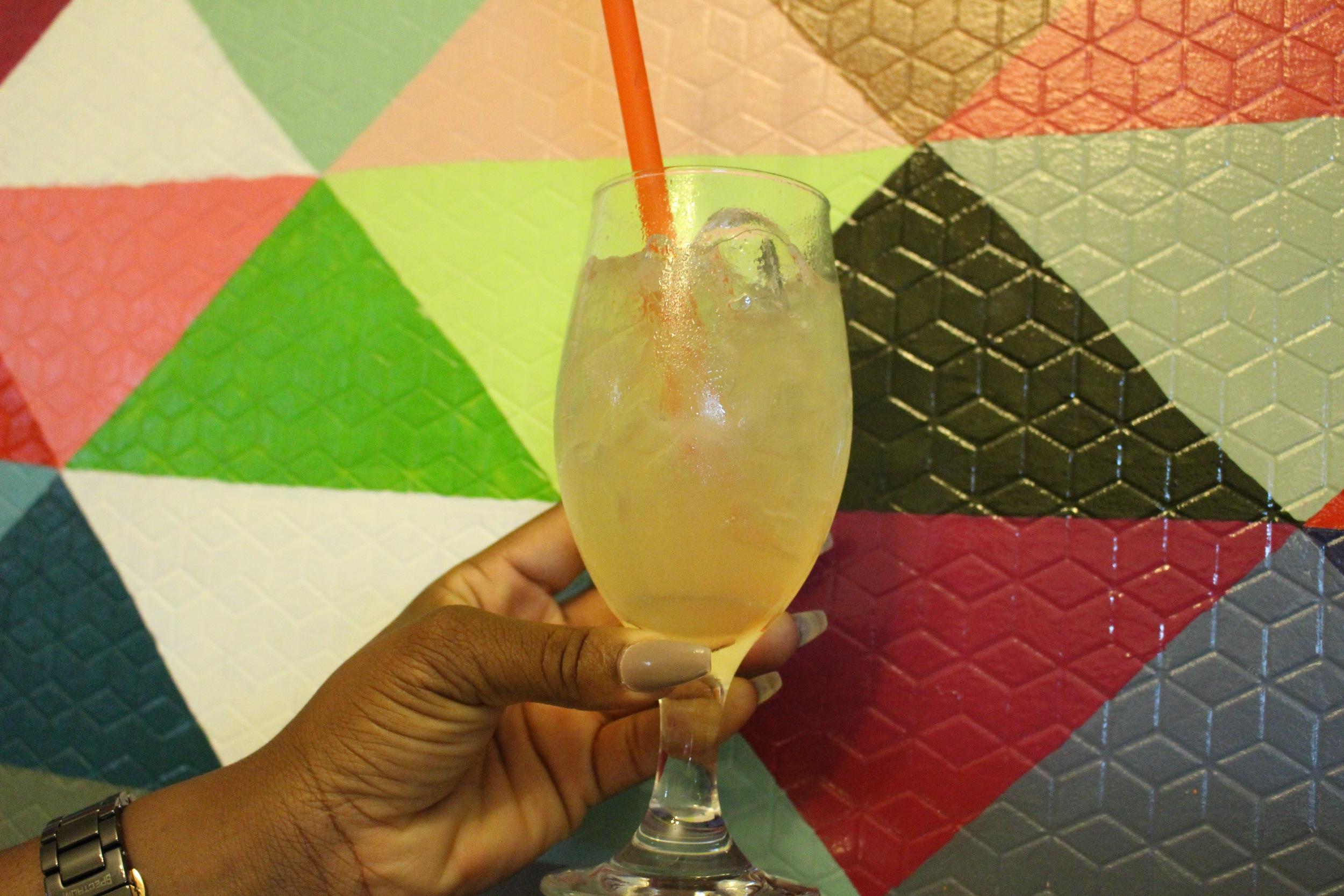 Passionfruit Ice Tea
